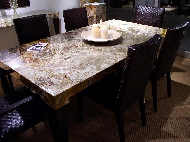 Recent Dining Table Stone Top Dining Tables || Table || 1000X728 Throughout Recent Stone Dining Tables (Image 11 of 20)