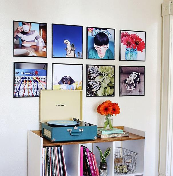 Record Covers As Wall Art – Home Tweaks Throughout Album Cover Wall Art (Image 17 of 20)