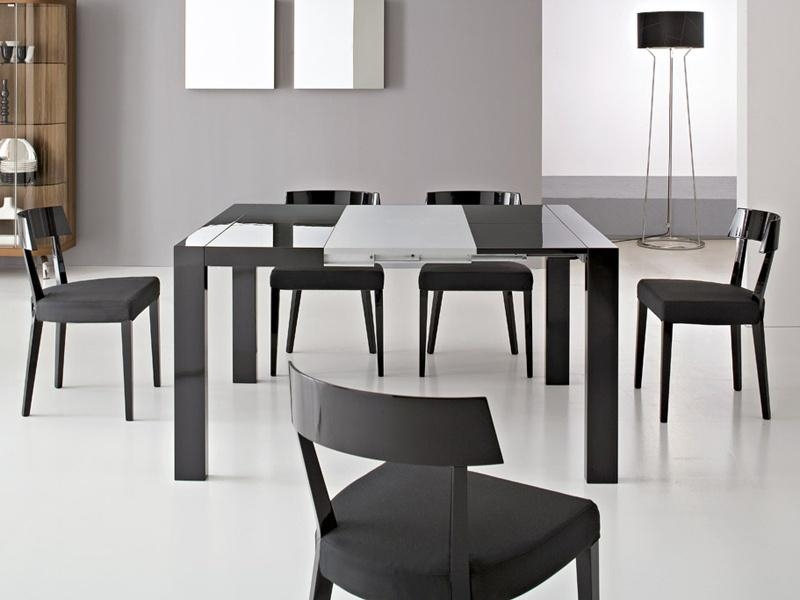 Rectangle Extendable Dining Tables | Advice For Your Home Decoration Regarding Recent Modern Dining Suites (Image 20 of 20)