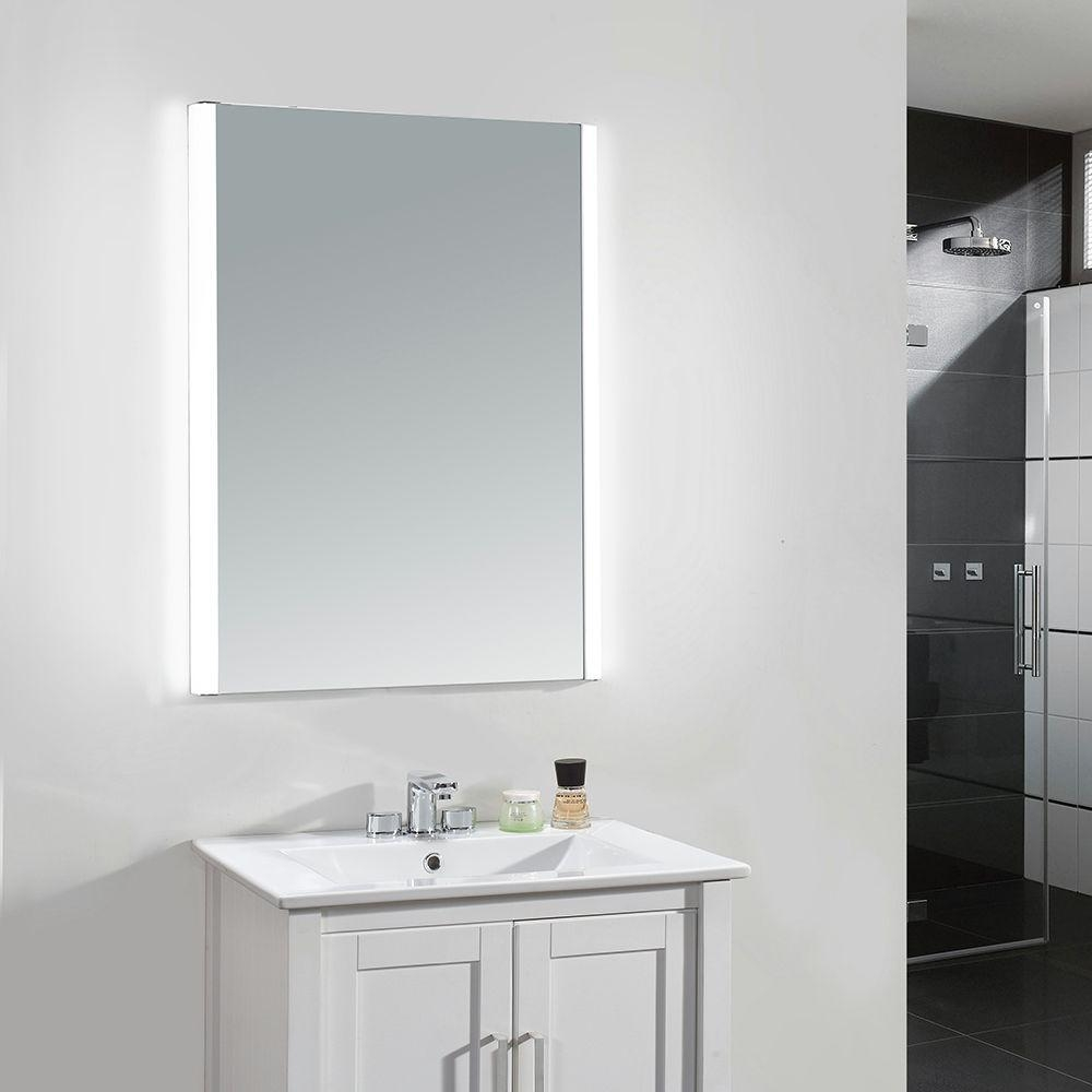 Rectangle – Yes – Bathroom Mirrors – Bath – The Home Depot Throughout Wall Mirrors For Bathrooms (Image 16 of 20)