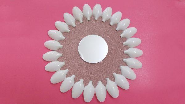 Recycled Diy Projects: How To Make Plastic Spoons & Mirror Wall For Plastic Spoon Wall Art (Image 16 of 20)
