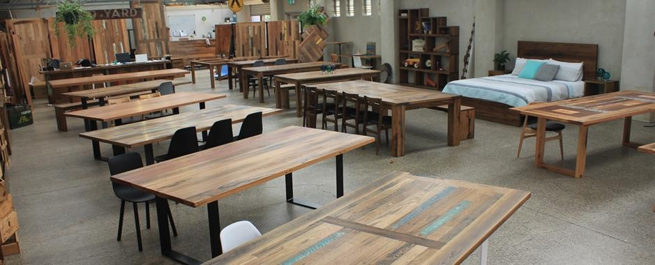 Recycled Timber Dining Tables & Outdoor Timber Furniture Melbourne Pertaining To Most Current Perth Dining Tables (Image 19 of 20)