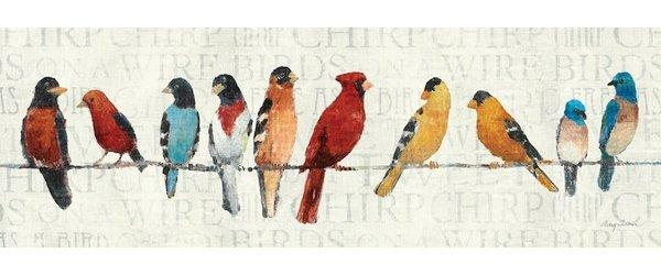 Red Barrel Studio The Usual Suspects Birds On A Wire Wall Art On For Birds On A Wire Wall Art (View 5 of 20)
