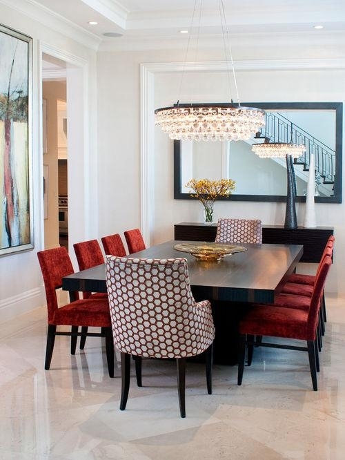 Red Dining Chairs | Houzz Regarding Recent Red Dining Chairs (View 2 of 20)