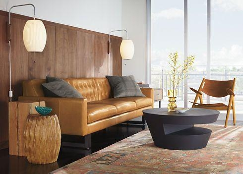 Remarkable Room And Board Leather Sofa Wells Leather Sofas Wells In Room And Board Wells Sofas (Image 13 of 20)
