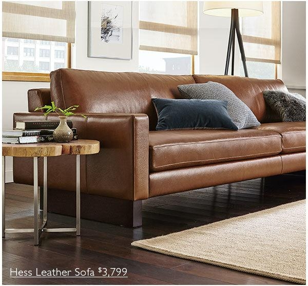 Remarkable Room And Board Leather Sofa Wells Leather Sofas Wells Intended For Room And Board Wells Sofas (Image 14 of 20)