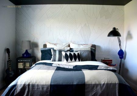 Remodelaholic | 15 Amazing Diy Sharpie Walls Intended For Sharpie Wall Art (Image 13 of 20)