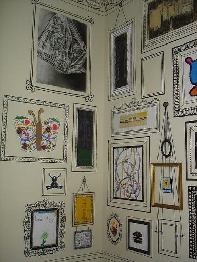 Remodelaholic | 15 Amazing Diy Sharpie Walls With Regard To Sharpie Wall Art (View 14 of 20)