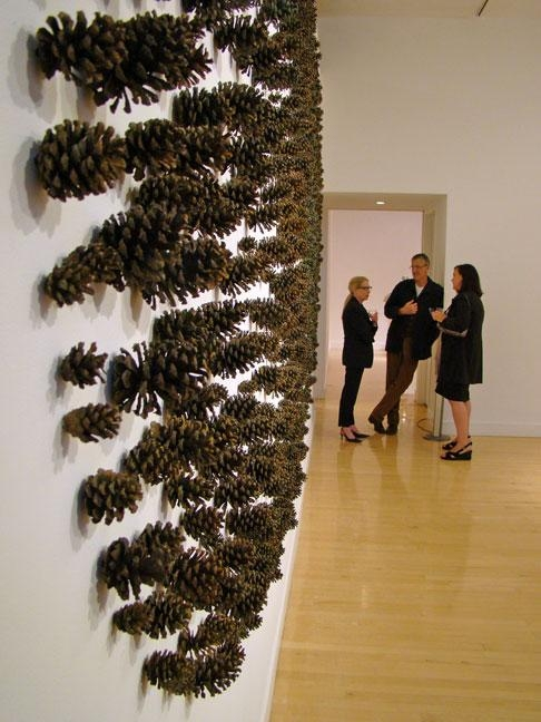 Rena Bransten, Togonon, Haines, Gallery 291 – San Francisco For Pine Cone Wall Art (Image 16 of 20)