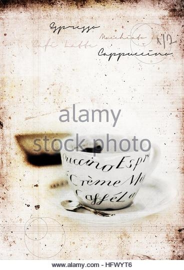 Restaurant Wall Art Stock Photos & Restaurant Wall Art Stock Inside Italian Coffee Wall Art (Image 15 of 20)