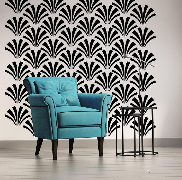 Featured Image of Art Deco Wall Decals
