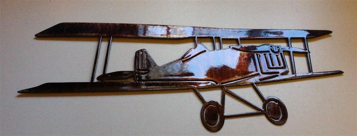 Rghtbiwing 2 Throughout Metal Airplane Wall Art (View 17 of 20)