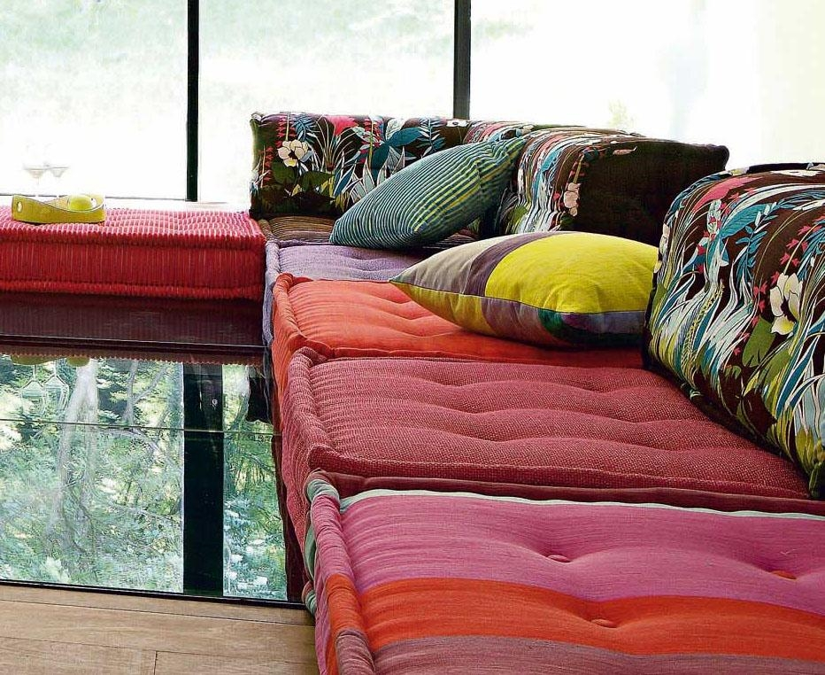 Roche Bobois Stylish And Functional Mah Jong Modular Sofas With Mahjong Sofas (Image 19 of 20)