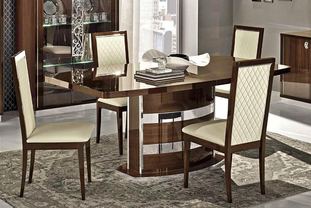 Roma Modern Italian Dining Table Collection Regarding 2017 Italian Dining Tables (Image 14 of 20)