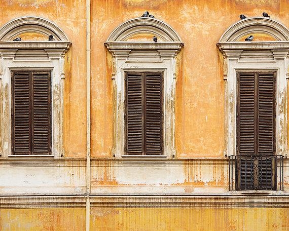 Rome Print Italy Photography Large Wall Art Roman Throughout Rustic Italian Wall Art (Image 15 of 20)