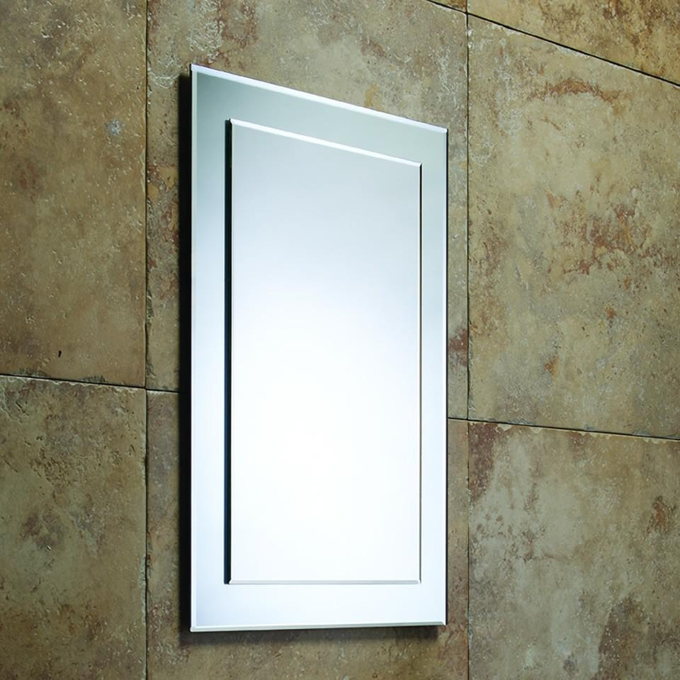 Roper Rhodes Elle Designer Bevelled Bathroom Mirror – 405Mm | Mps403 Regarding Bevelled Bathroom Mirrors (Photo 2 of 20)