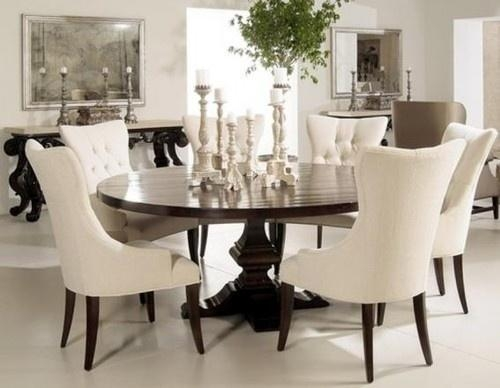 Round Dining Room Chairs Inspiring Exemplary Ideas About Round Throughout Most Recently Released Round Dining Tables (Image 16 of 20)