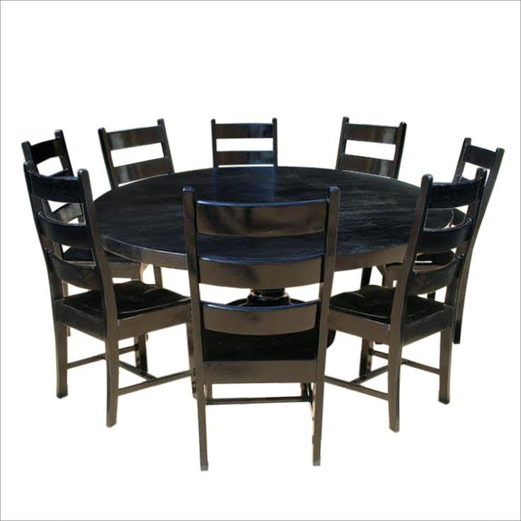 Round Dining Table 8 Chairs – Zagons (Image 15 of 20)