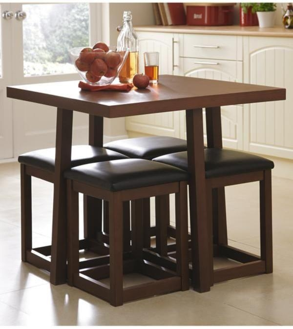Round Dining Table For 8 On Dining Room Table Sets And Great Regarding Latest Compact Dining Room Sets (Image 18 of 20)