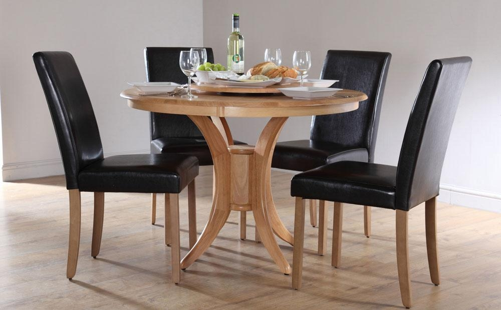 Round Dining Tables For 4 | Interior & Exterior Doors In Current Circular Dining Tables For  (Image 12 of 20)