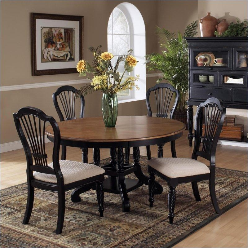 Round Dining Tables For 4 Round Kitchen Table Sets For 4 Regarding Best And Newest Circular Dining Tables For  (Image 14 of 20)