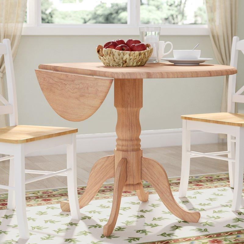 Round Kitchen & Dining Tables You'll Love | Wayfair With Most Up To Date Round Dining Tables (Image 18 of 20)