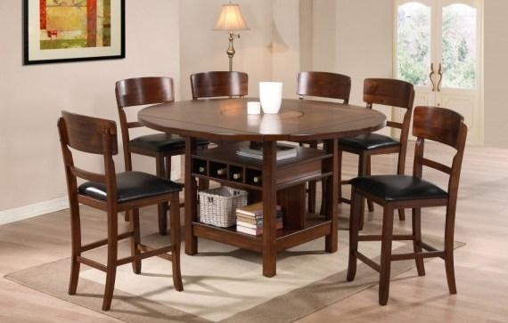 Round Kitchen Table Sets For 6 | Mada Privat Intended For Most Popular Wood Dining Tables And 6 Chairs (Image 17 of 20)