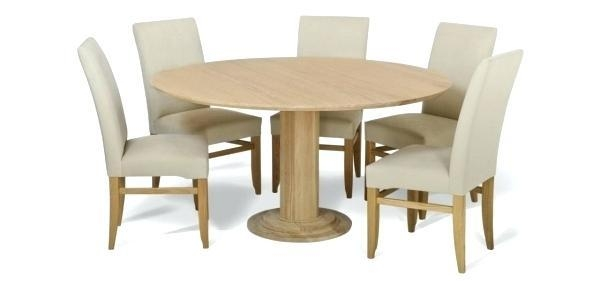 Round Oak Dining Tables – Mitventures (Image 18 of 20)