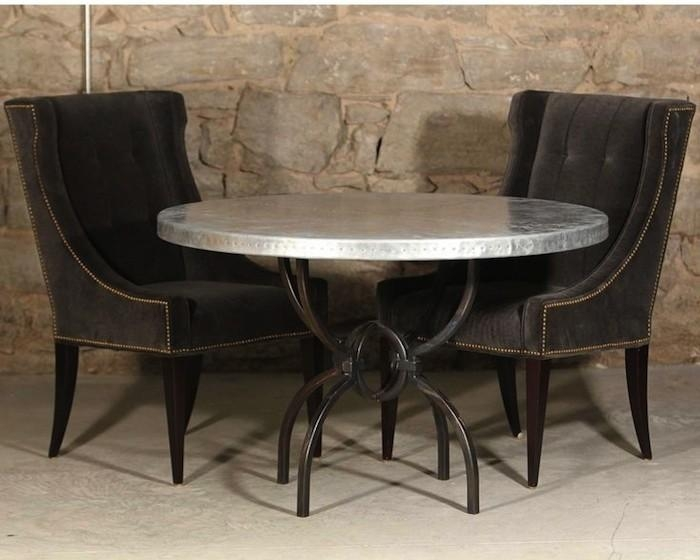Round Wrought Iron Dining Tables You'll Love | Artisan Crafted Regarding 2018 Logan Dining Tables (Image 18 of 20)