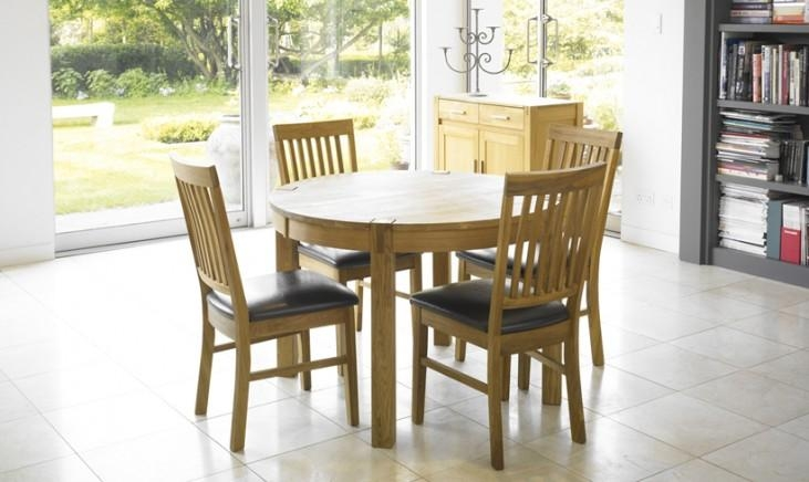 Royal Oak Round – Fishpools With 2018 Round Oak Dining Tables And 4 Chairs (View 11 of 20)