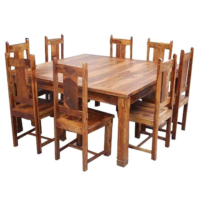 Rustic Dining Table And Chair Sets | Sierra Living Concepts Pertaining To Dining Tables And Chairs Sets (Image 18 of 20)