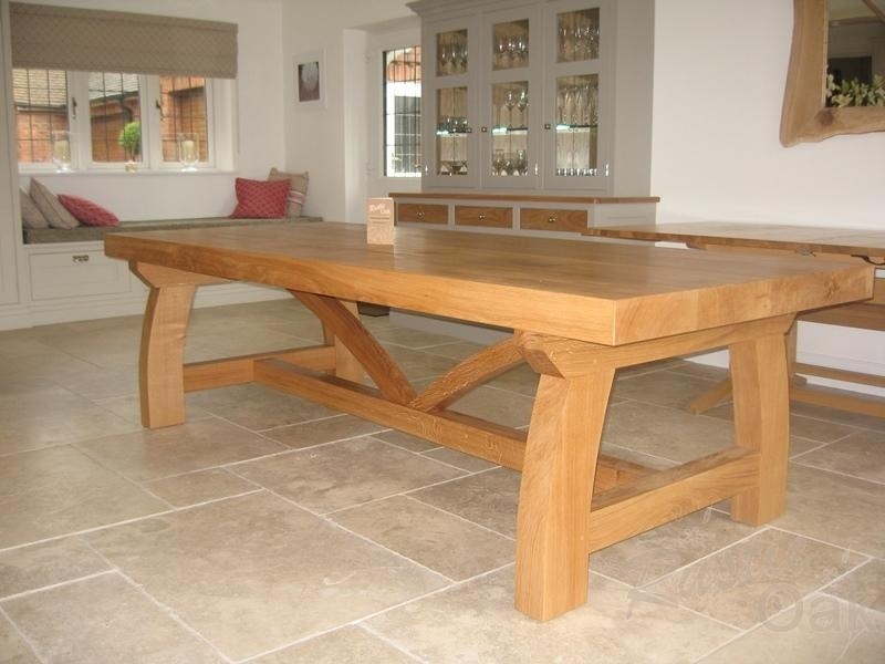 Rustic Luxury – Bespoke Oak Furniture | Ck Vango Inside Latest Rustic Oak Dining Tables (Image 11 of 20)