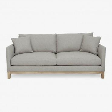 Saba New York Suite Sofa Silver – Abc Carpet & Home With Cobble Hill Sofas (Image 19 of 20)