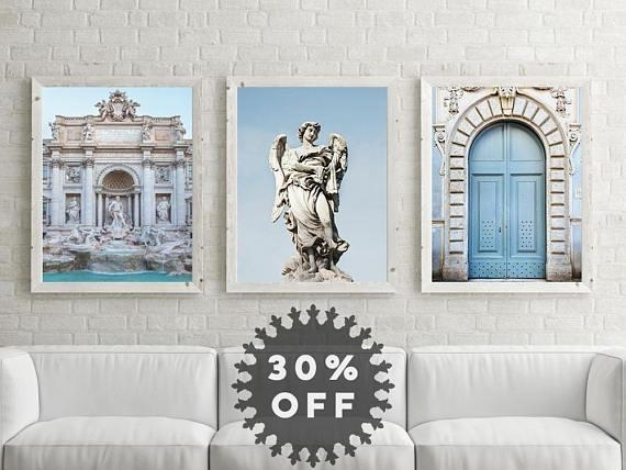 Sale Rome Print Set Italian Wall Art Prints Rome For Italian Wall Art For Sale (Image 10 of 20)