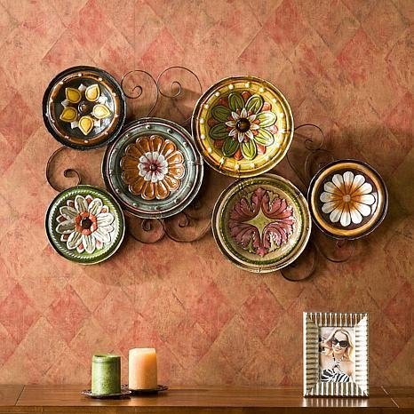 Scattered Italian Plates Wall Art – 6408687 | Hsn Inside Old Italian Wall Art (Image 14 of 20)