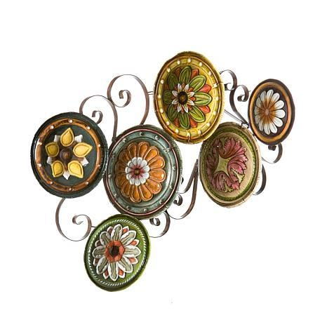 Scattered Italian Plates Wall Art – 6408687 | Hsn Regarding Italian Glass Wall Art (Image 10 of 20)