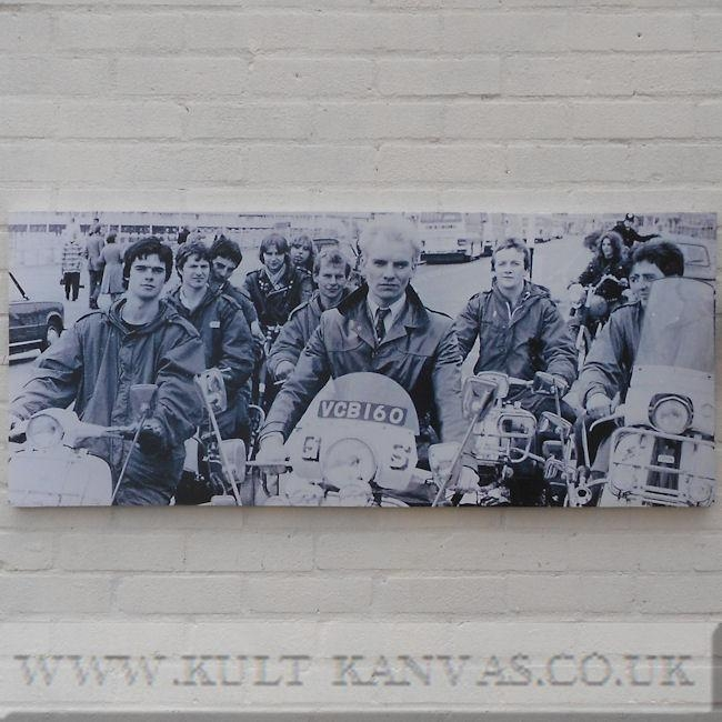 Scooter Wall Art In Quadrophenia Wall Art (Image 16 of 20)