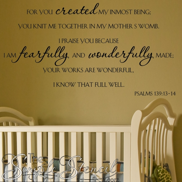Scripture Wall Decals | Inspiring Bible Verse Wall Quotes | Simple For Scripture Vinyl Wall Art (View 15 of 20)