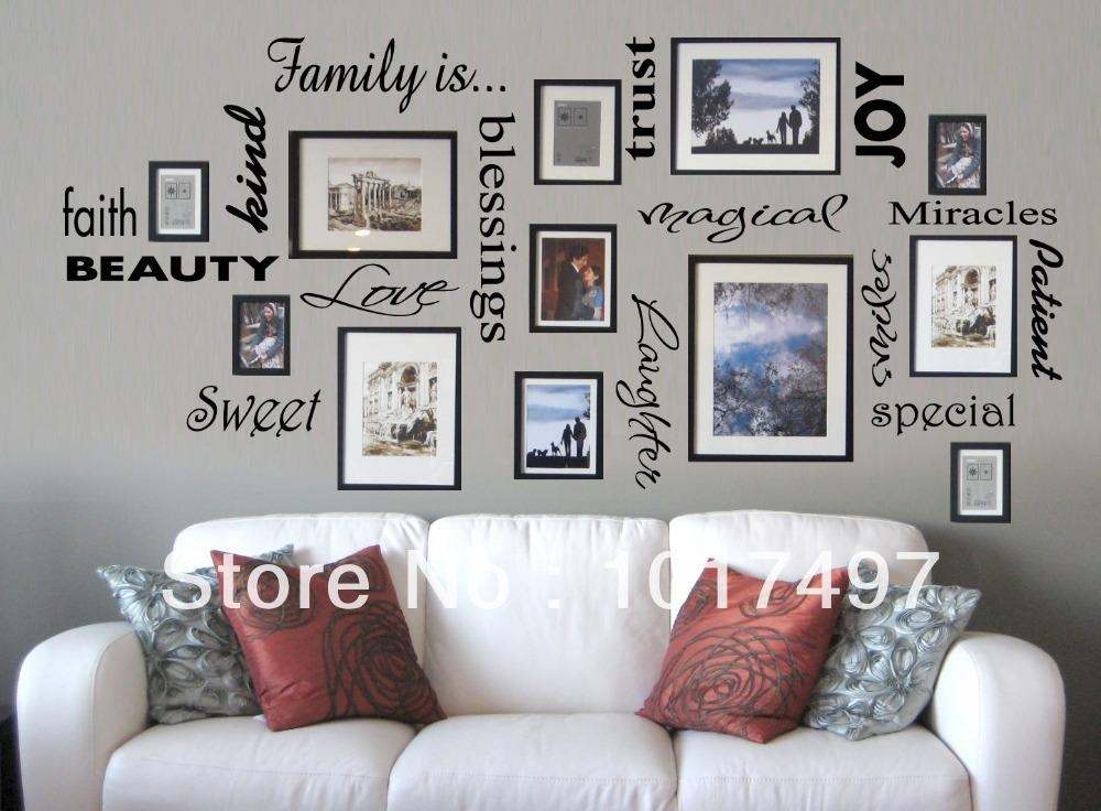 Search On Aliexpressimage Regarding Family Wall Art Picture Frames (Image 14 of 20)