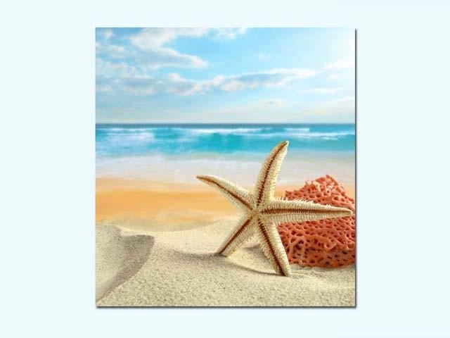 Seashell Canvas Prints Manufacturers,seashell Canvas Prints Pertaining To Seashell Prints Wall Art (Image 12 of 20)