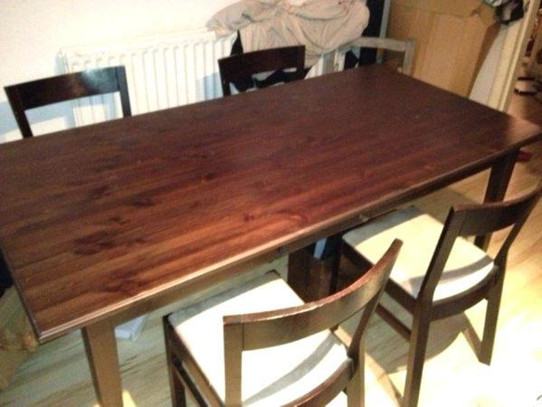 Second Hand Dining Room Tables – Zagons (Image 12 of 20)