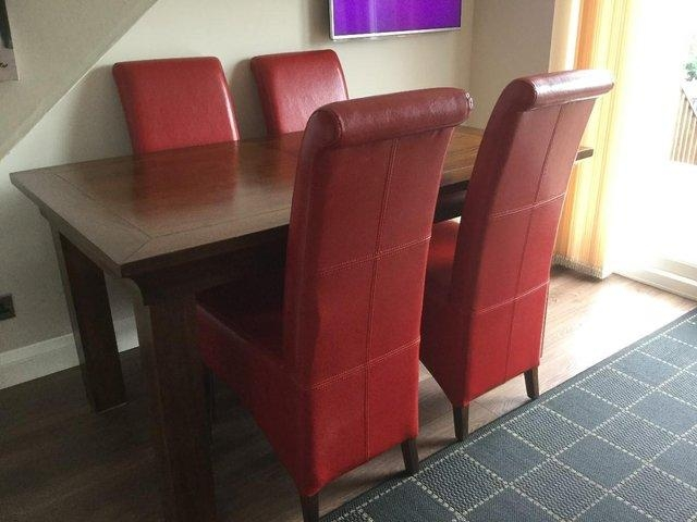 Second Hand Oak Dining Chairs – Second Hand Household Furniture Pertaining To Most Up To Date Second Hand Oak Dining Chairs (Image 13 of 20)