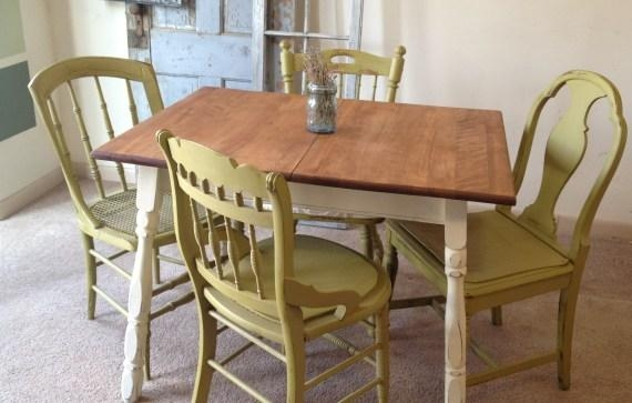 Second Hand Old Charm Dining Table And Chairs (Image 15 of 20)