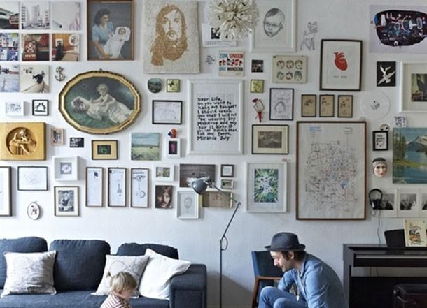 Secrets To Creating The Perfect Masculine Art Wall – Throughout Masculine Wall Art (Image 14 of 20)
