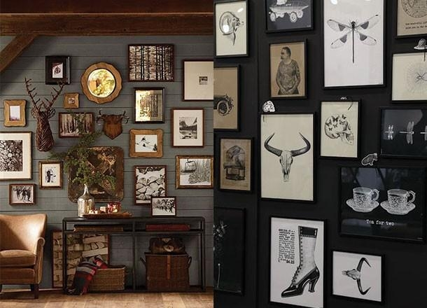 Secrets To Creating The Perfect Masculine Art Wall – Within Masculine Wall Art (Image 15 of 20)