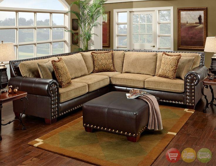 Sectional Sofa Design: Amazing Traditional Sectional Sofas Design With Regard To Traditional Leather Sectional Sofas (Image 14 of 20)