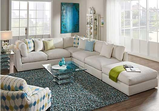 Sectional Sofa Design : Cindy Crawford Sectional Sofa Blue Motif In Cindy Crawford Sectional Sofas (Image 16 of 20)