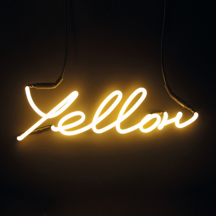 Seletti Neon Colour Word Lamp | Wall Art Inside Neon Wall Art Uk (Image 6 of 20)