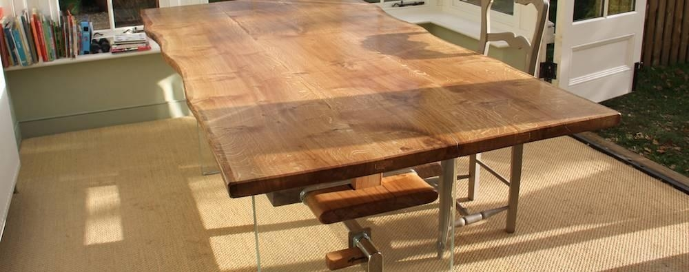 Sensational Inspiration Ideas Rustic Oak Dining Table | All Dining Inside Current Rustic Oak Dining Tables (Image 19 of 20)
