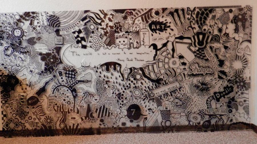 Sharpie Muralneonterror On Deviantart In Sharpie Wall Art (View 13 of 20)